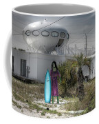 Alien Space Ship House Florida Architecture Coffee Mug
