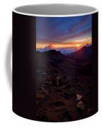 Alien Sunrise Coffee Mug by Mike  Dawson