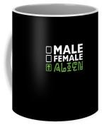 Alien Ufo Male Female Gift Coffee Mug