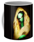 Alien Wearing Lace Mantilla Coffee Mug