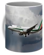 Alitalia Embraer Erj-175std Coffee Mug