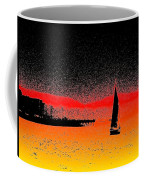 Alki Sail  Coffee Mug