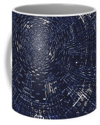 All Around In Blue And Black Coffee Mug