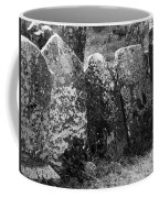 All In A Row At Fuerty Cemetery Roscommon Ireland Coffee Mug