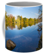 All Is Quiet On The River Coffee Mug