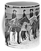 All Lined Up Coffee Mug