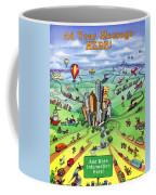 All Roads Lead To Houston Coffee Mug