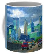 All Roads Lead To Minneapolis Coffee Mug