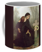All Saints Day Coffee Mug by William Adolphe Bouguereau