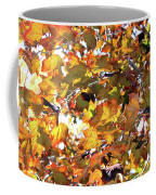 All The Leaves Are Red And Orange Fall Foliage With Sunshine Coffee Mug