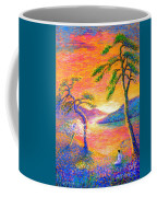 Buddha Meditation, All Things Bright And Beautiful Coffee Mug