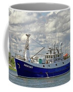 Cloudy Day On The Marina Coffee Mug