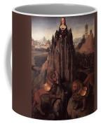 Allegory With A Virgin 1479 80 Hans Memling Coffee Mug