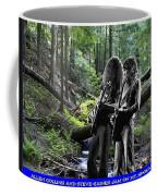 Allen And Steve On Mt. Spokane Coffee Mug