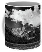Allen Mountain Towers Over Swift Current Lake Coffee Mug