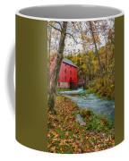 Alley Mill In Autumn Coffee Mug