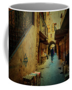 Alley Of Old Sidon Coffee Mug