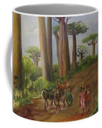 Alley Of The Baobabs Coffee Mug