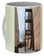 Alley W Fire Escape Coffee Mug