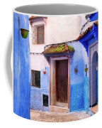 Alleyway In The Blue City Coffee Mug