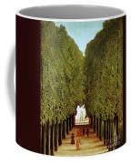 Alleyway In The Park Coffee Mug by Henri Rousseau