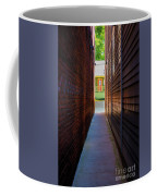 Alleyway To Green Coffee Mug