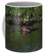 Alligator Eyes Coffee Mug