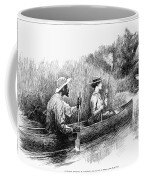 Alligator Hunt, 1888 Coffee Mug