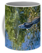Alligator Stalking Coffee Mug