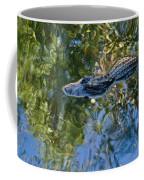 Alligator Stalking Coffee Mug