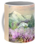 Almond Trees In Altea La Vieja Coffee Mug