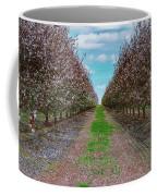 Almond Trees Of Button Willow Coffee Mug