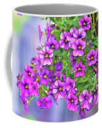 Aloha Purple Sky Calibrachoa Abstract I Coffee Mug