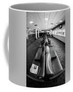 Alone At The Airline Gate Coffee Mug
