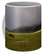 Alone In Fog Coffee Mug