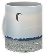 Alone On The Water Coffee Mug