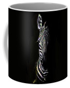 Zebra Fade Into Light Coffee Mug