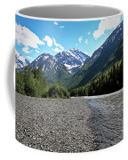Along Eagle River- Eagle River, Alaska Coffee Mug
