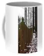 Along The Fence Coffee Mug