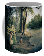 Along The Mississinewa River Coffee Mug