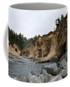 Along The Oregon Coast  Coffee Mug