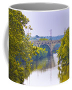 Along The Schuylkill River In Manayunk Coffee Mug by Bill Cannon