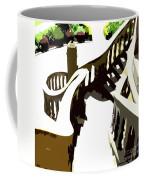 Along The Spiral Stairway Coffee Mug