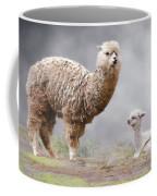 Alpacas Mum And Baby Coffee Mug