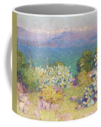 Alpes Maritimes From Antibes Coffee Mug