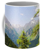 Alpine Altitude Coffee Mug by Jeff Kolker