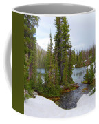 Alpine Lake Area Coffee Mug