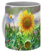 Alpine Sunflower In Summer Coffee Mug