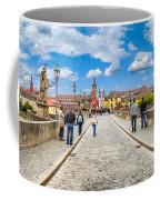 Alte Mainbrucke In The Historic City Of Wurzburg Coffee Mug