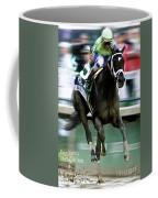 Always Dreaming, Johnny Velasquez, 143rd Kentucky Derby  Coffee Mug